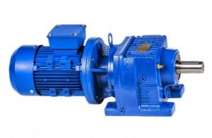 Цилиндрический мотор редуктор HR