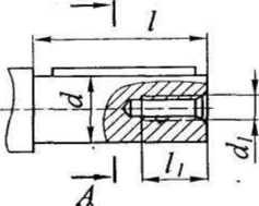Размеры валов червячного редуктора 2Ч 80 схема 2
